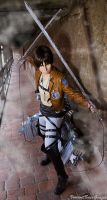 Eren Jaeger - Attack on Titan Cosplay by K-I-M-I