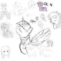 Sketch dump by Chiweee