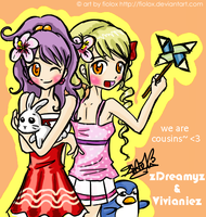 MAPLE STORY: we are cousins by FioLoX