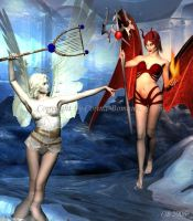 Angel and Devil by Brina1974