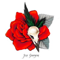 La rose du corbeau by Jesse-Gourgeon