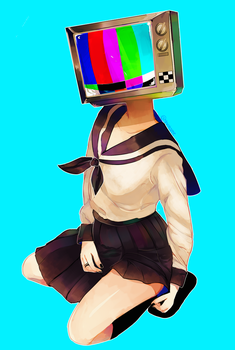 Tv Head by ShintaRee