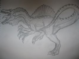 Spinosaurus by drgknot