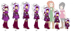 Concept - The Many Ages of Marisa by Dragon-FangX