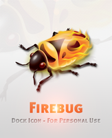 Firebug Dock Icon by michaelmknight