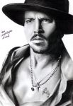 Johnny Depp 2 by crayon2papier