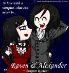 Raven And Alexander by amimie