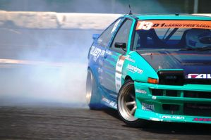 Falken AE86 Drifting at D1GP by jb1830