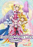 Excluded Pretty Cure Fresh by Anime1423