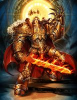 Warhammer - Emperor of Mankind by GENZOMAN