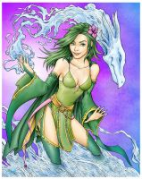 Rydia of Mist by seraphimon83