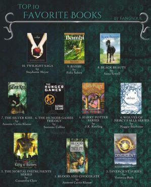 Top 10 Favorite Books - Updated - 2013