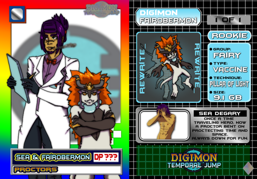 DTJ :: Sea and FairObermon Trading Card by Space-Drive-Overdose