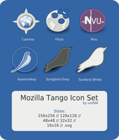Mozilla Tango Icon Set by Unit66