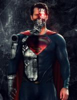 Man of Steel - Hank Henshaw/Cyborg Superman by heggcnote
