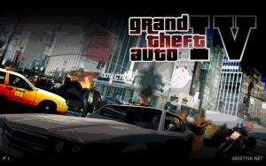 Grand Theft Auto IV by F-1