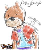 Toontown Hearts: Little Bear by Artist-Who-Draws