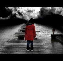 On the Pier by he-cries-elusive