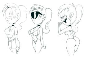 Simone Sketches by DaveToons by Montatora-501