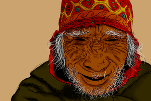 Old-man Finished by Garcho