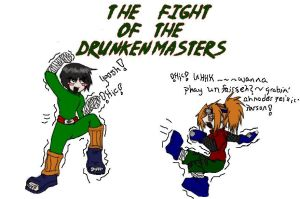 Drunken Masters -Colored- by Zevvy