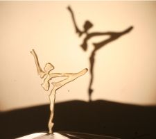 Arabesque with shadow by vitrescence