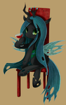 Queen Chrysalis !! by Marenlicious