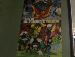 My Ben 10 UA Poster by gwevinlancittylover