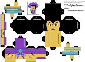 Cubee - Evil-Lyn '1of2' by CyberDrone