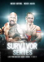 Survivor Series 2011 Poster by BiggertMedia
