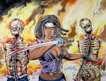 The Walking Dead by joraz007