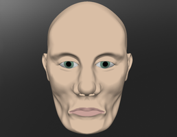 the head sculptris raw image 2 by Technohippy