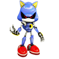 Metal Sonic (fixed) by Mike9711