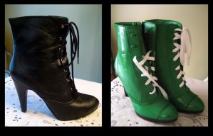 Sailor Jupiter's Boots by amariel