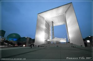 Grande Arche de la Defense by francescovilla
