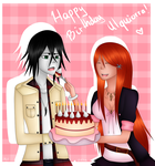 Happy (late) Birthday Ulquiorra! by Milchwoman