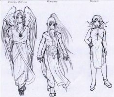 T.O.D. character sketches2 by Modified-Rabbit