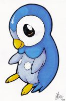 For Alexis- Piplup by Eevee4Ever
