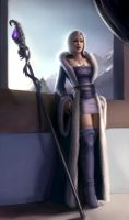 Gisselle, Winter Sorceress 02 by phoenixnightmare