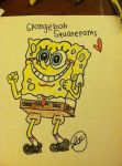 Spongebob by doodlingpenguin