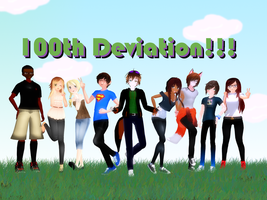 100th Deviation~ by AnimeAwesome95