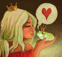Frog Prince by BaileyNickerson