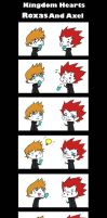 Roxas And Axel by devil-dxb