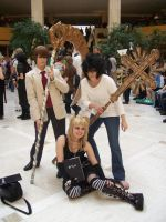Light, Misa, L, and a Scythe by Ls-Successor