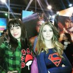 Me and a Supergirl cosplayer by violetasilvestre2011