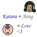 Aang + Katara: LOVE by innocent--angel