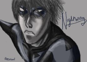 NightWing by Azraial