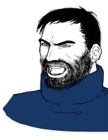 Captain Haddock by eabevella