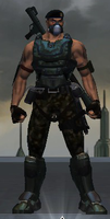 Commander Axton - First Appearance by Aleronssword