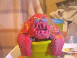 Don't let dad near Play-Doh by Chentzilla
